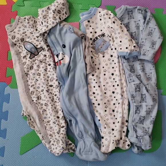 Other - Baby Boy Footed Pyjamas